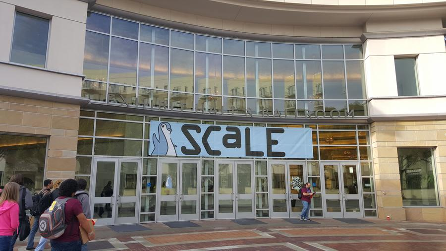 SCALE at the Pasadena Convention Center